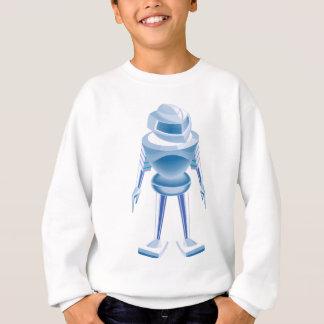 Chrome robot sweatshirt