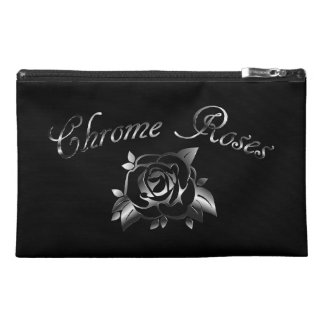 Chrome Roses Travel Accessories Bag
