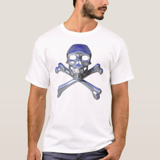 Chrome skull and crossbones T-Shirt