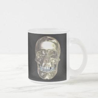 Chrome Skull Mug