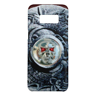 CHROME SKULL WITH FANTASY GRIFFINS Case-Mate SAMSUNG GALAXY S8 CASE