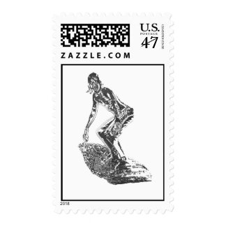 Chrome Surfer Postage