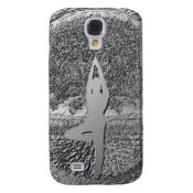 Chrome Tree of Life Yoga Galaxy S4 Cover (<em>$26.35</em>)