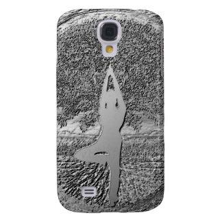 Chrome Tree of Life Yoga Galaxy S4 Cover
