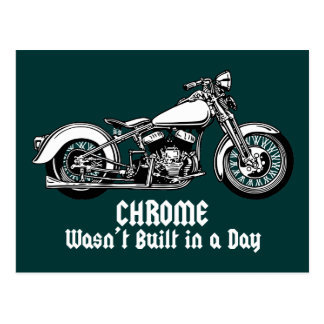 Chrome Wasn t Built in a Day Post Cards