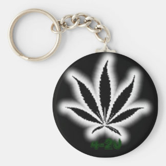 Chrome-Weed, 4-20 Keychains