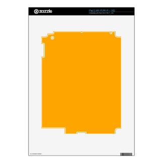 CHROME YELLOW (solid color) ~ Decals For The iPad 2