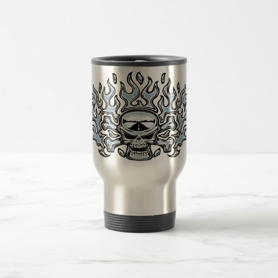 Chromeboy Crossbones Travel Mug