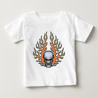 Chromeboy - llamas playera de bebé