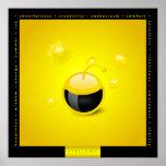 Chromonauts - poster amarillo del color