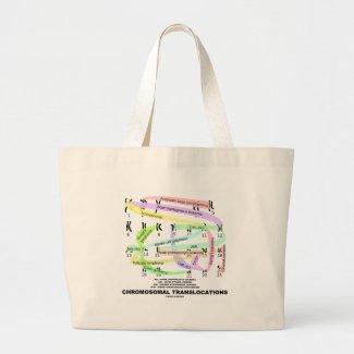 Chromosomal Translocations (Karyogram) Canvas Bag