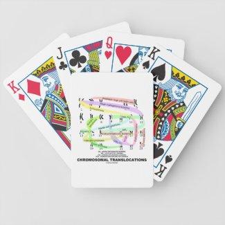 Chromosomal Translocations (Karyogram) Bicycle Poker Deck