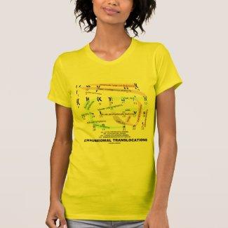 Chromosomal Translocations (Karyogram) Tee Shirt