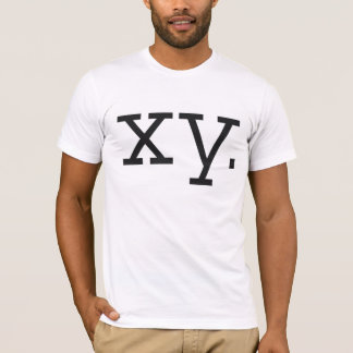 Chromosome - XY T-Shirt