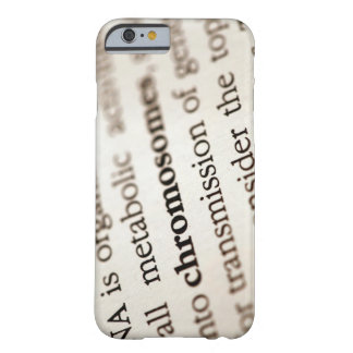 Chromosomes definition on page barely there iPhone 6 case