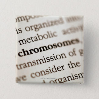 Chromosomes definition on page pinback button
