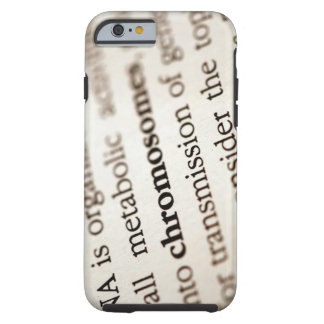 Chromosomes definition on page tough iPhone 6 case