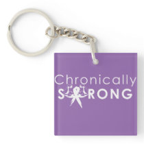 Chron Strong/Don't Judge Keychain
