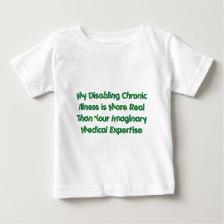 Chronic Conditions - Greens Baby T-Shirt