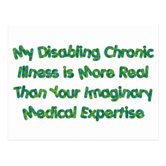 Chronic Conditions - Greens Postcard