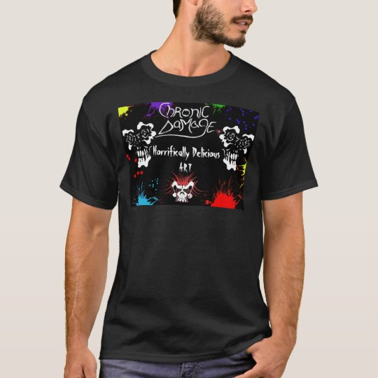 Chronic Damage Holding back the Demon T-Shirt