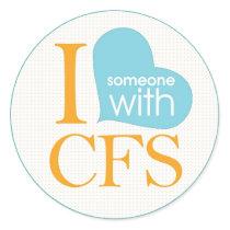 Chronic Fatigue Awareness Classic Round Sticker