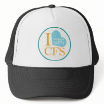 Chronic Fatigue Awareness Trucker Hat