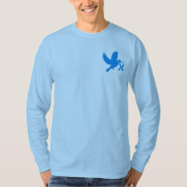 Chronic Fatigue Syndrome, CFS, Dove of Hope T-Shirt