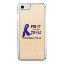 Chronic Fatigue Syndrome Fight for the Cure! Carved iPhone 7 Case