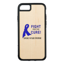 Chronic Fatigue Syndrome Fight for the Cure! Carved iPhone 8/7 Case
