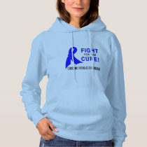 Chronic Fatigue Syndrome Fight for the Cure! Hoodie