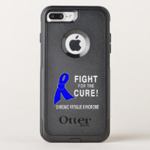 Chronic Fatigue Syndrome Fight for the Cure! OtterBox Commuter iPhone 8 Plus/7 Plus Case