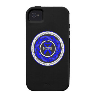 Chronic Fatigue Syndrome Hope Intertwined Ribbon Vibe iPhone 4 Cover