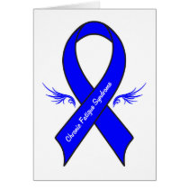 Chronic Fatigue Syndrome with Wings Card
