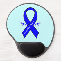 Chronic Fatigue Syndrome with Wings Gel Mouse Pad