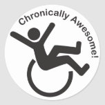 Chronic Illness Awareness Products Classic Round Sticker