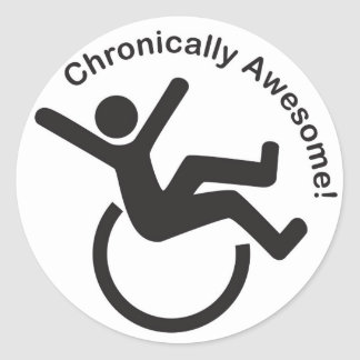 Chronic Illness Awareness Products Sticker