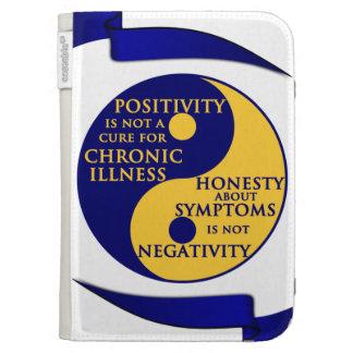 Chronic Illness Caseable Kindle Folio Case For Kindle