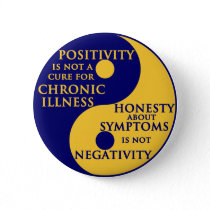 Chronic Illness Round Badge Button