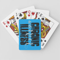 Chronic Illness Warrior Playing Cards