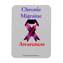 Chronic Migraine Awareness Magnet