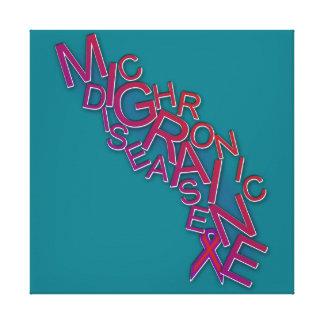 Chronic Migraine Disease - Word Scramble - Print