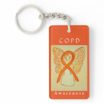 Chronic Obstructive Pulmonary Disease Keychain