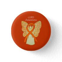 Chronic Obstructive Pulmonary Disease Ribbon Pin