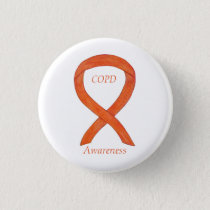 Chronic Obstructive Pulmonary Disease Ribbon Pin