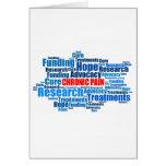 Chronic Pain Advocacy Greeting Card