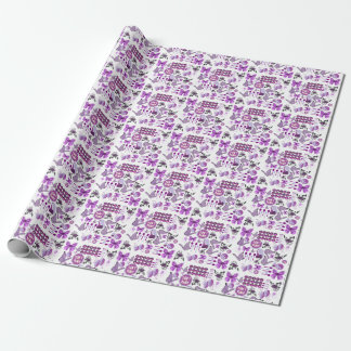 Chronic Pain Mash Up Wrapping Paper