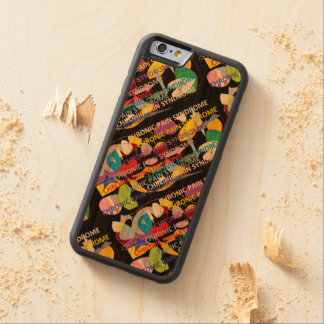 Chronic Pain Syndrome Carved Cherry iPhone 6 Bumper Case