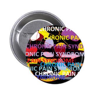 Chronic Pain Syndrome Pinback Button
