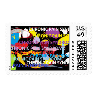 Chronic Pain Syndrome Postage Stamp